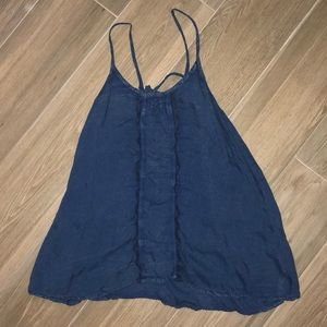 NEVER WORN- Blue Free People tank top
